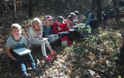 Lekcja przyrody wterenie – klasa 2.