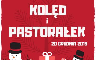 Świąteczny czas już niedługo, dlatego zapraszamy wszystkich chętnych uczniów doudziału wSzkolnym Koncercie Kolęd iPastorałek.
